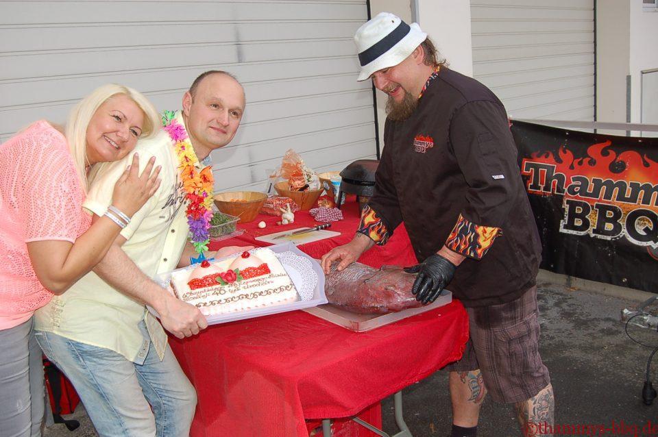 Torte und Dorade