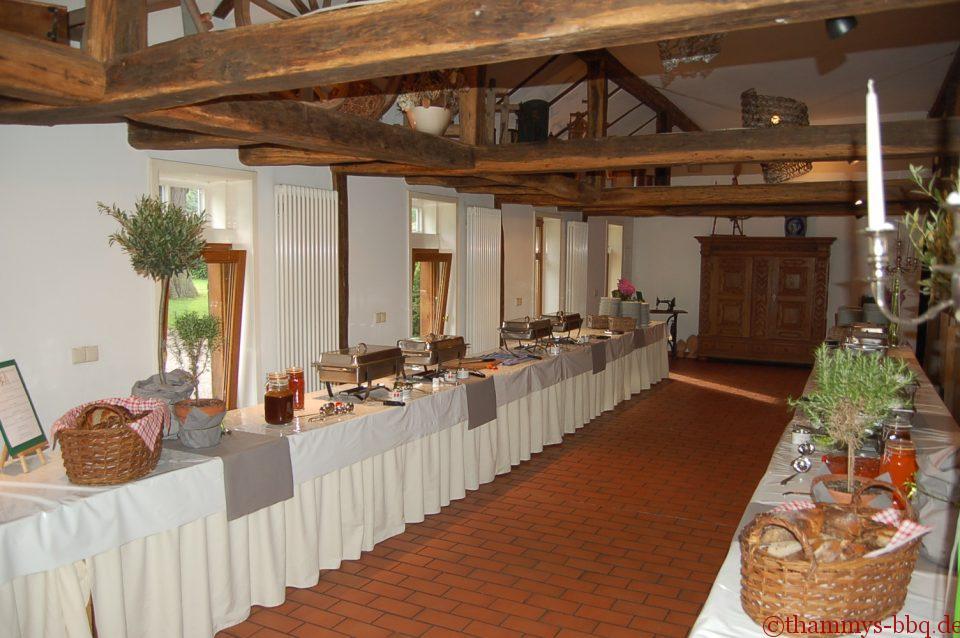 BBQ-Buffet im Uphof