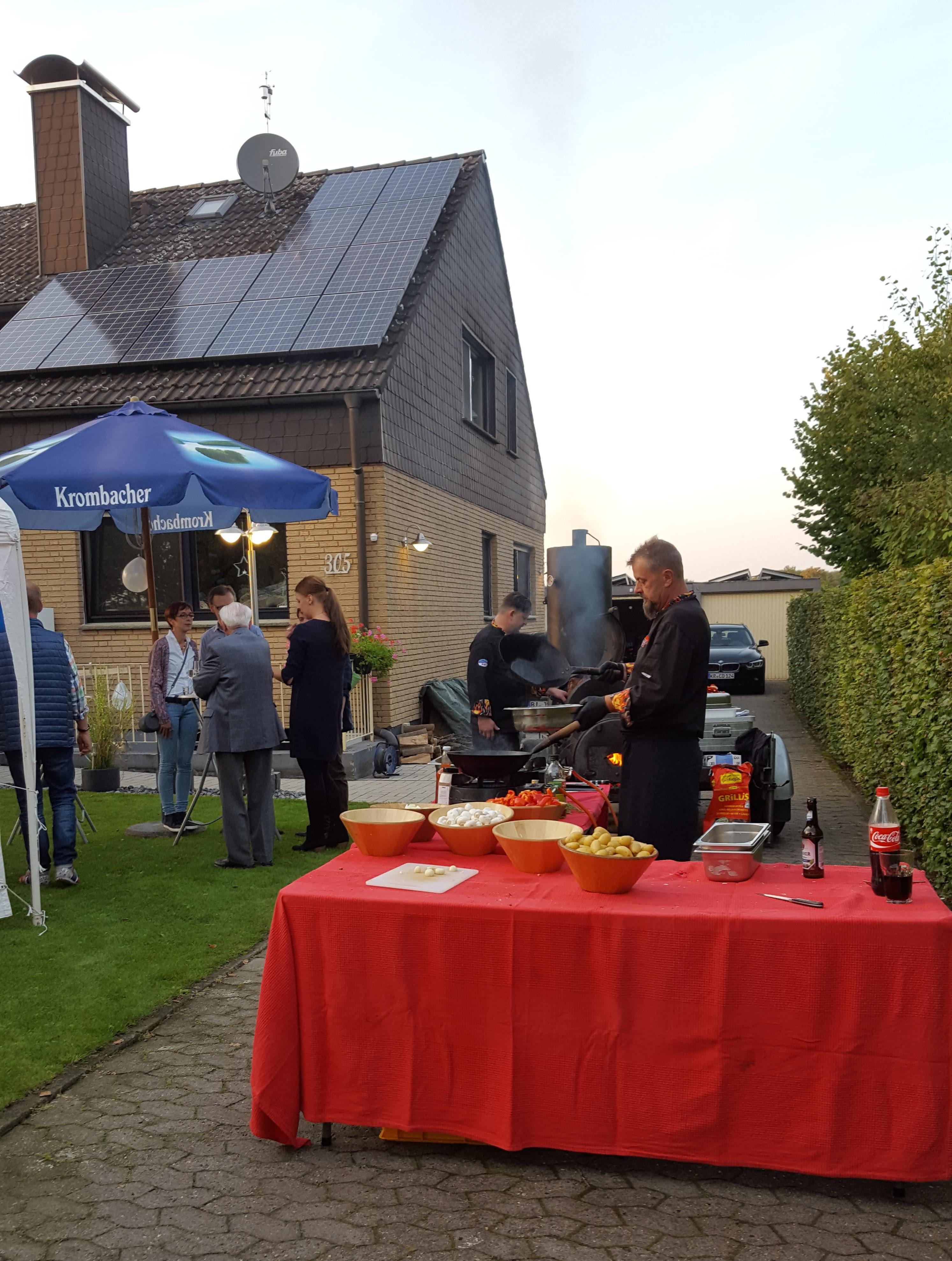 BBQ in Friedrichsdorf